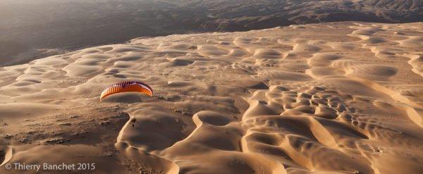 Voyage paramoteur en Namibie