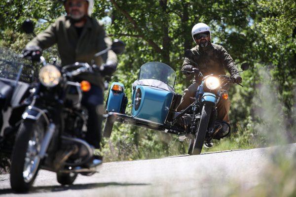 voyage à moto en France