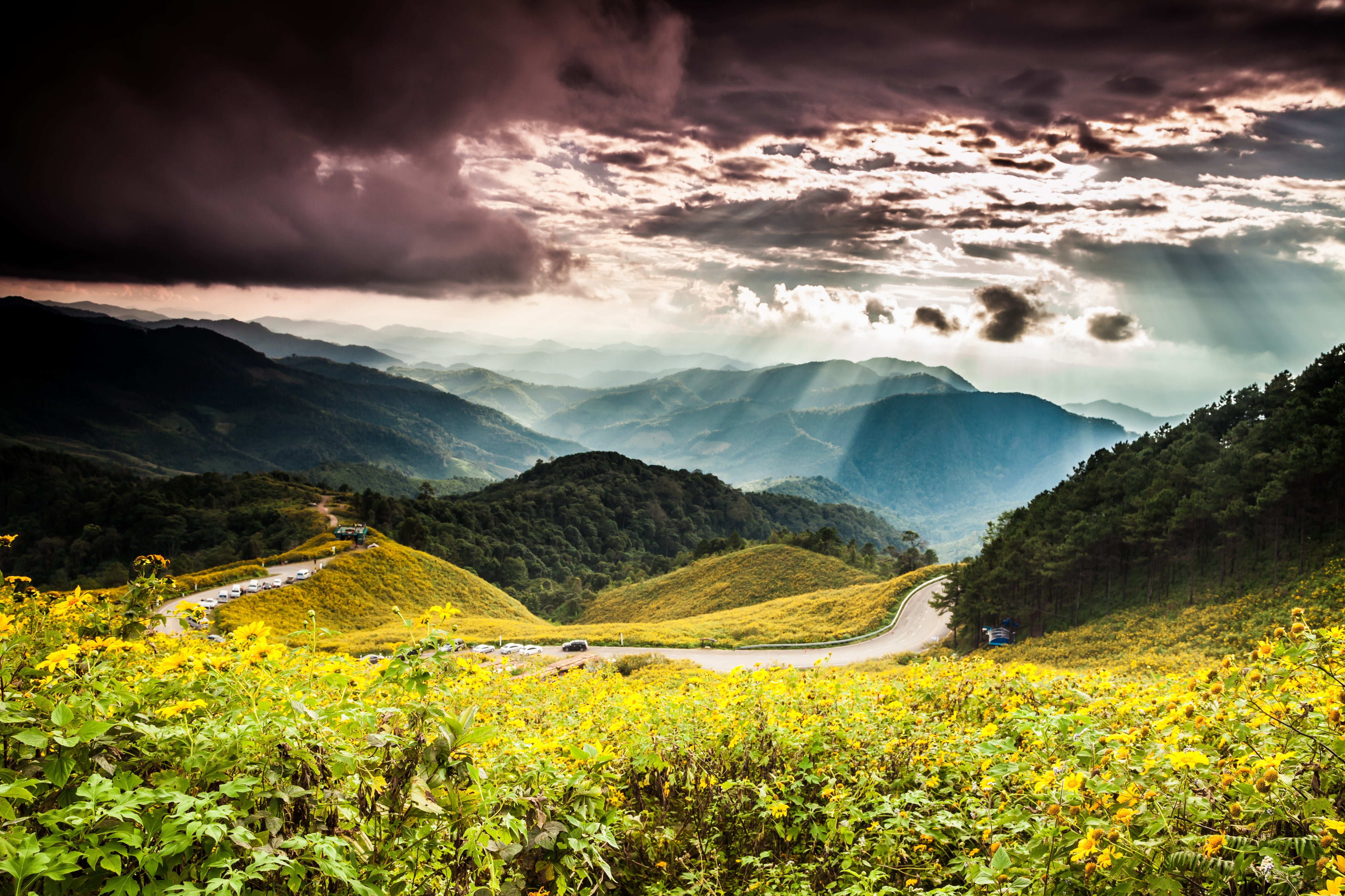 Voyage moto en Asie